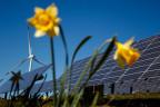 Windkraftwerk im Jura