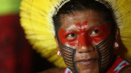 Indigene in Brasilien. Symbolbild.