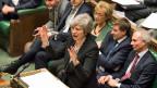 Die britische Premierministerin Theresa May am 29. Januar 2019 im Parlament im London.