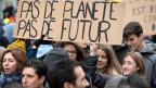 Hunderte demonstrieren in Lausanne für mehr Klimaschutz