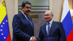 Wladimir Putin (re) und Nicolas Maduro. Aufnahme vom Dezember 2018.