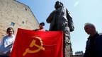 Bronzestatue von Karl Marx des chinesischen Künstlers Wu Weishan. Die Statue steht in Marx' Heimatstadt Trier.