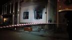 Rechtsradikale zündeten ein ungarisches Kulturzentrum an.