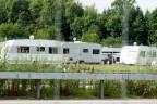 Wohnwagen von Fahrenden in Wileroltigen (BE)