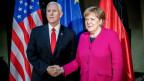 Mike Pence, Angela Merkel