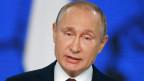 Der russische Präsident Vladimir Putin anlässlich seiner Rede zur Nation am 20.2.2019.
