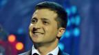 Wladimir Selenski der Komiker kandidiert für die ukrainischen Präsidentschaftswahlen