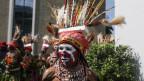Symbolbild. Einheimische Tänzer anlässlich eines Festanlasses in Papua-Neuguinea.