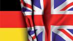Die deutsche und die britische Flagge.