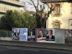 Wahlplakate in der Waadt