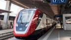 Der neue Fernverkehr-Doppelstockzug der SBB «FV-Dosto» im Hauptbahnhof in Zürich.