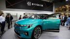 «Byton» steht für «Bytes on Wheels» - ein volldigitalisiertes und vernetztes Elektro-Auto.