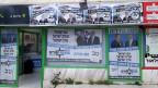 Nur Männer auf den Wahlplakaten in orthodoxen Vierteln Jerusalems.
