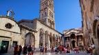 Der Peristyl-Platz in der Altstadt von Split. ZVG.
