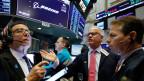 Die Aktienkurse der Boeing an der Wall Street sind stark am Fallen.