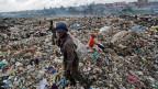 Abfallberge in Nairobi, Kenia.