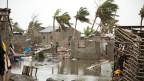 Der Wirbelsturm Idai zerstörte die Küstenstadt Beira in Mosambik.
