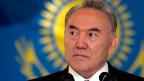 Nursultan Nasarbajew, Präsident von Kasachstan.