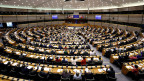 Sicht auf das EU-Parlament in Brüssel.