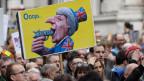Proteste in London für ein Ende des Brexit