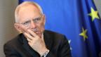 Wolfgang Schäuble, Bundestagspräsident.