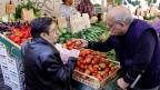 Gemüsemarkt in Rom.