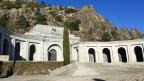 Eingangsterrasse zur Basilika im Valle de los Caídos.