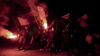 Ausschreitungen in Rom gegen Roma.