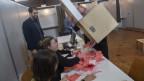 Wahlurne im Tessin.