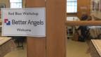 Die Gruppe «Better Angels» hat insgesamt 350 Workshops in den ganzen USA abgehalten, für Bürgerinnen, aber auch Politiker.