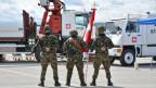 Swisscoy-Soldaten im Kosovo.