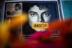 Plakat des Popstars Michael Jackson