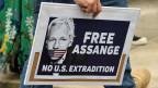 Kundgebung in Sydney nachdem der Wikileaks-Gründer Julian Assange von britischen Behörden festgenommen wurde.