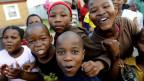 Spielende Kinder in Südafrika. Symbolbild.