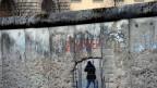 Überreste der Mauer zwischen Ost- und Westdeutschland.