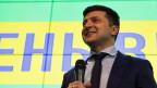Der ukrainische Komiker Wolodimir Selenski könnte neuer Präsident werden.
