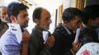 Wahlberechtigte in Kaschmir