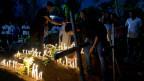Hinterbliebene der Anschläge in Sri Lanka