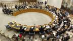 Sicht auf den Uno-Sicherheitsrat.