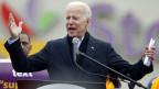 Der ehemalige US-Vizepräsident Joe Biden will für die Präsidentschaftswahl kandidieren.