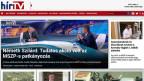 Website des ungarischen Fernsehsender Hir-TV fusioniert mit dem regierungstreuen Echo TV.