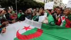 Algerier protestieren für den Abzug des algerischen Regimes in Algier am 3. Mai 2019.