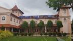 Die Sebastians Kirche in Negombo ist auch zwei Wochen nach den Anschlägen geschlossen.