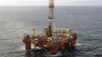 Die Bohrinsel des norwegischen Ölkonzerns Statoil im in der Nordsee.