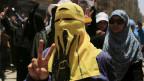 Ein Mitglied der Muslimbruderschaft in Ägyptens Hauptstadt Kairo.
