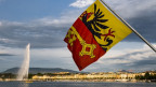 Der Genfer Adler steht schief: Der Kanton kämpft mit einem Wahlbetrugsskandal.