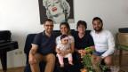 Sonia Feiger von Shalom Alaikum mit einer befreundeten irakischen Flüchtlingsfamilie in Wien.