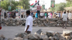 Demonstranten in Khartum, Anfang Mai.