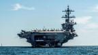 Flugzeugträger der US-Marine USS Abraham Lincoln. Medienberichten zufolge entsenden die USA ihn in den Nahen Osten, um Iran abzuschrecken.