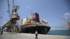 Der Hafen von Hodeida in Jemen.